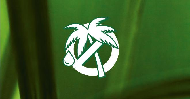 Kennzeichnung Zero Palm